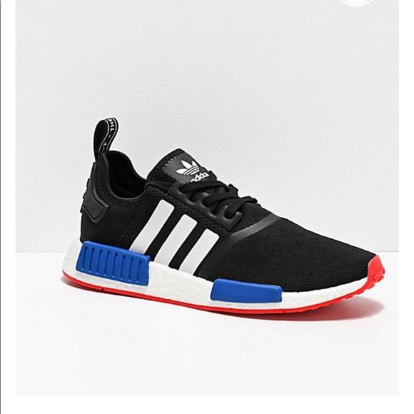 adidas Shoes | Adidas Nmd R Black White